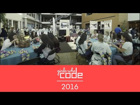Girls Who Code Visit Electronic Arts 2016
