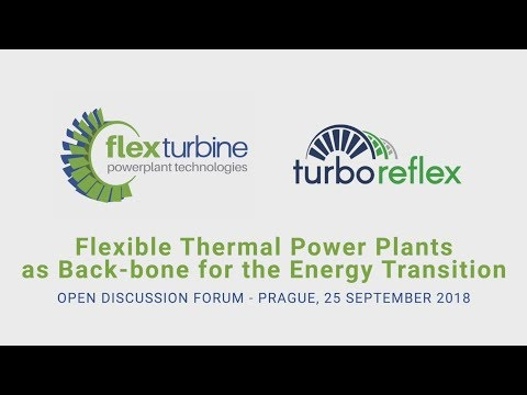 FLEXTURBINE & TURBO-REFLEX: Turbine Technologies as Back