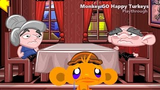 Monkey Go Happy: Turkeys - walkthrough