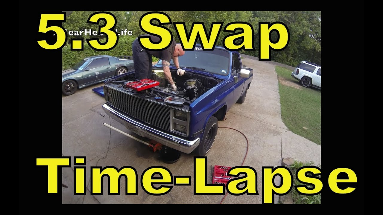 Lsx 53 Swap Time Lapse 87 Chevy Truck C10 R10 Ls1 Youtube 73 Wiring Harness