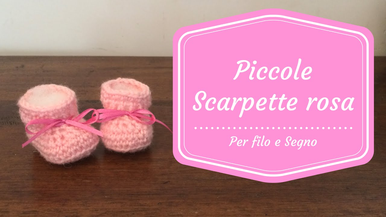 c64c7b85825bcd Tutorial - Piccole Scarpette Rosa - YouTube