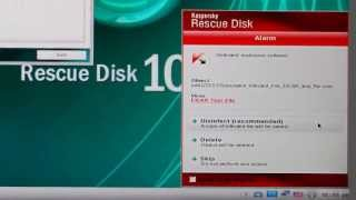 Kaspersky Rescue Disk    - Download - Burn - Scan -
