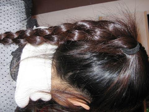 4 Strand 3d Round Chain Braid Hairstyle Hair Tutorial Youtube