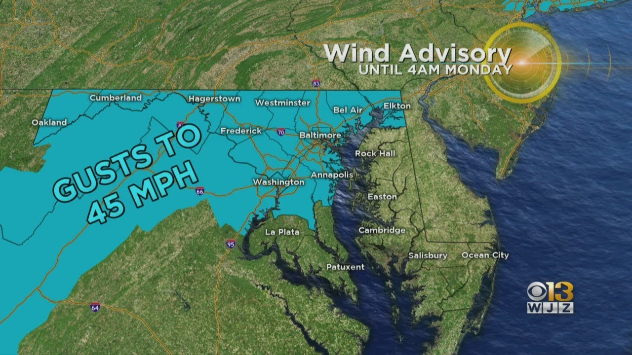 Maryland weather: Severe thunderstorms move across region ...
