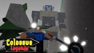 New Titan Fighting Game on Roblox! | Colossus Legends
