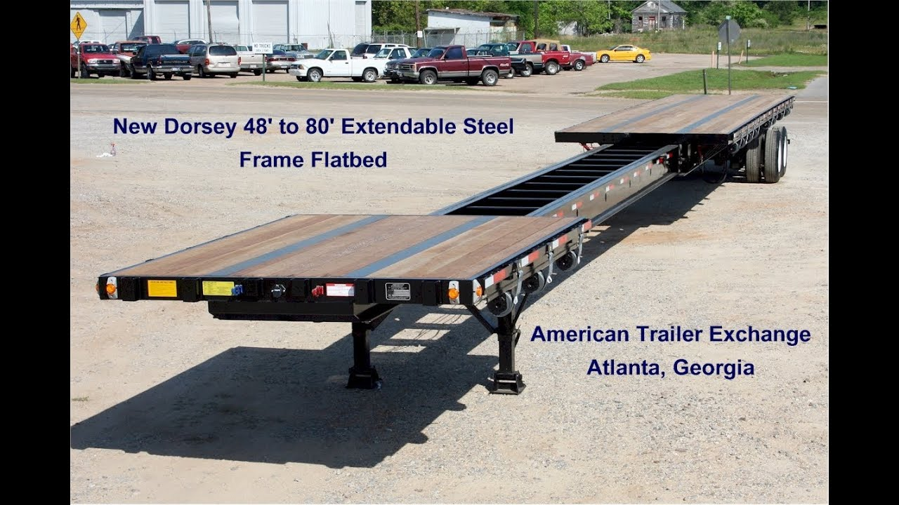 Dorsey Extendable Flatbed Walkaround Video By American