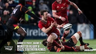 Guinness PRO14 Round 15 Highlights: Munster Rugby v Isuzu Southern Kings