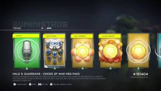 Pack Cascos Clasicos-Halo 5: Guardians