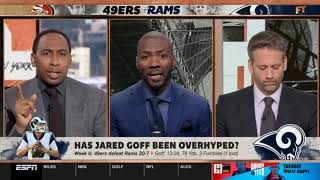First Take 10/14/19 | Stephen A. Smith: Has Jared Goff been overhyped?