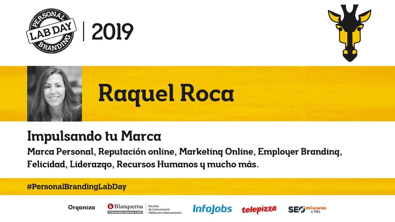 Raquel Roca en el Personal Branding Lab Day 2019