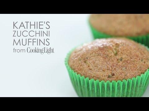How to Make Kathie's Zucchini Muffins | MyRecipes