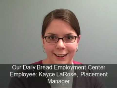 Catholic Charities of Baltimore: Our Daily Bread Employment Center Employee