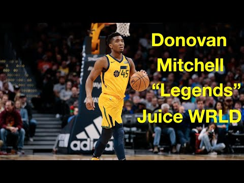 "Donovan Mitchell NBA Mix ""Legends"""