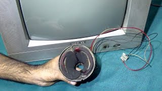 How To Remove Short Circuit From CRT Color Television (Step By Step) - Bengali Tutorial