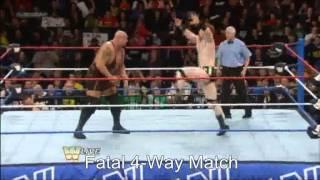 Randy Orton vs. Sheamus vs. CM Punk vs. Big Show Fatal-4-Way Raw 4.3.2013 (Part 1)