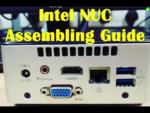 Intel NUC Mini PC Assembling Guide - HINDI