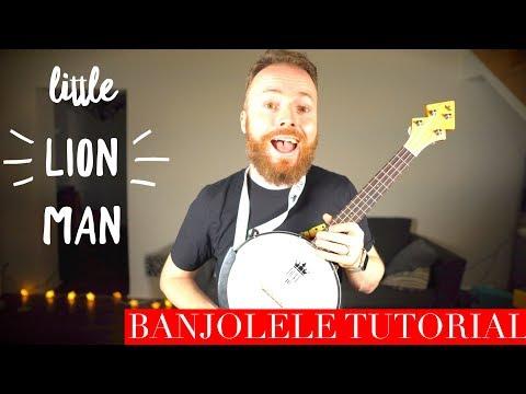 Little Lion Man - Mumford & Sons (BANJOLELE Ukulele Tutorial) thumbnail