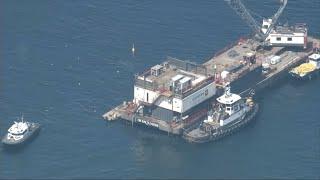 Salvage efforts resume in Santa Barbara boat fire I ABC7