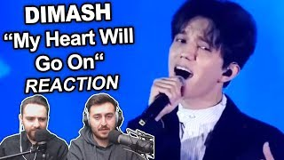 Dimash   My Heart Will Go On Singers Reaction