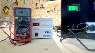 Обзор DGM AFS-500K. Самый дешевый стабилизатор напряжения