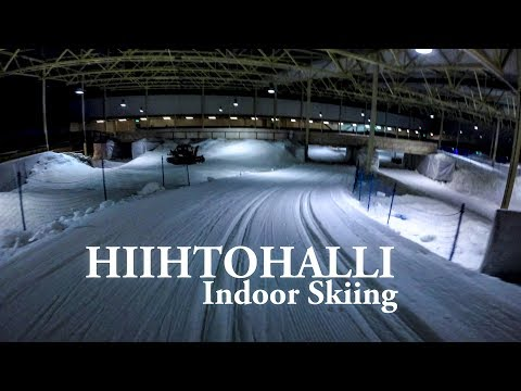 Kivikko Hiihtohalli - Indoor Cross-Country Skiing in Helsink