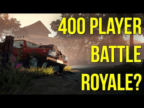 400 PLAYER BATTLE ROYALE?! - NEW BR GAME COMING 2018