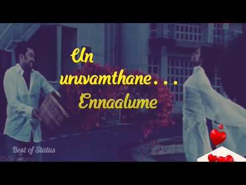 Whatsapp Status Tamil ♡ Unnai Kandane ♡ Best Love Song Lyrical Lines