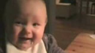 FUNNIEST SLOW MOTION BABY LAUGH
