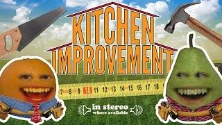 Annoying Orange - Kitchen Improvement (Home Improvement Parody)