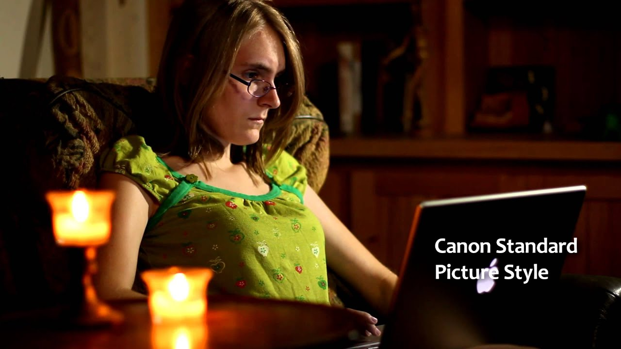 Canon Rebel Picture Style Settings