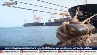 الحوثيون يحتجزون المساعدات الواردة للشعب اليمني في ميناء الحديدة