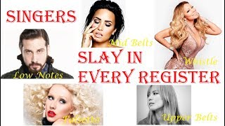 Famous Singers SLAY in EVERY VOCAL REGISTER thumbnail
