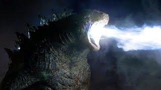 Godzilla vs MUTOs - Atomic Breath Scene - Final Battle - Godzilla (2014) Movie Clip HD