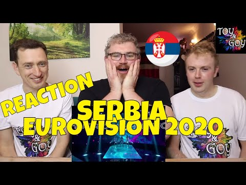 SERBIA EUROVISION 2020 REACTION: Hurricane - Hasta La Vista