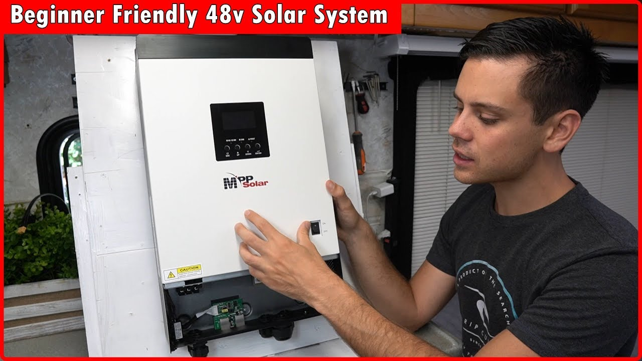 Download 48v Solar Power System for Beginners: Lower Cost and More Power!