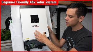 48v Solar Power System for Beginners: Lower Cost and More Power!