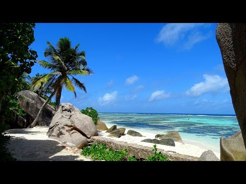 Anse Source D'Argent Beach La Digue Island Seychelles La Digue Island Lodge Beaches of Seychelles 4k