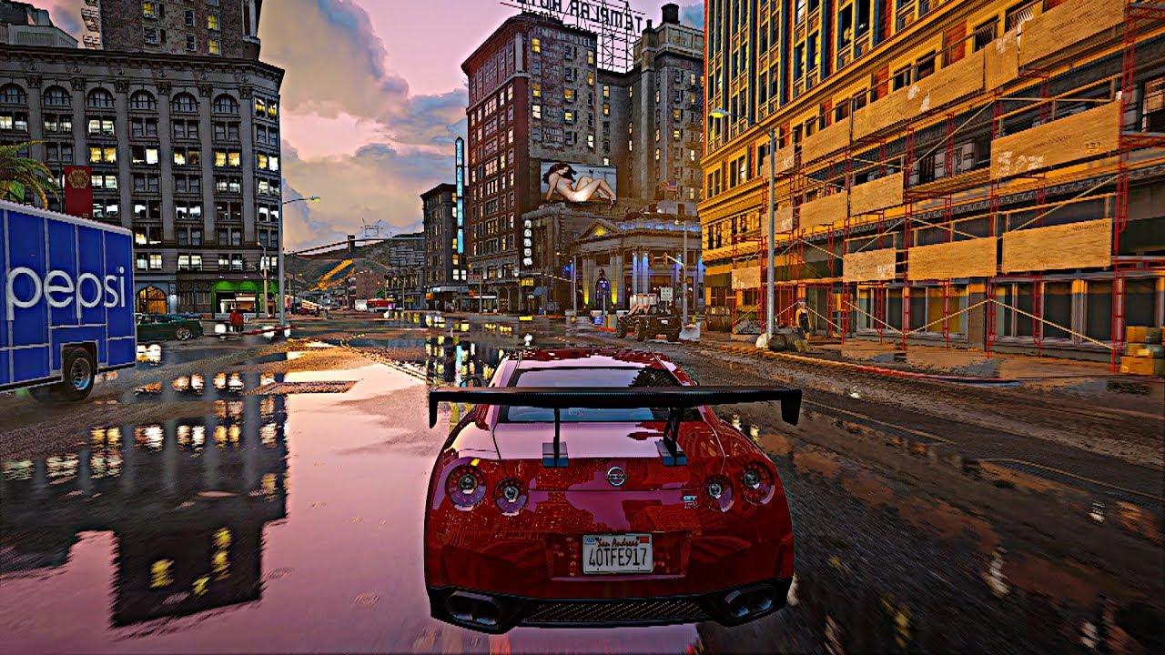 ►NEW September 2018 Next-Gen Real Life Graphics GTA 5 Mod RTX™ 2080 Ti [4k  60fps]