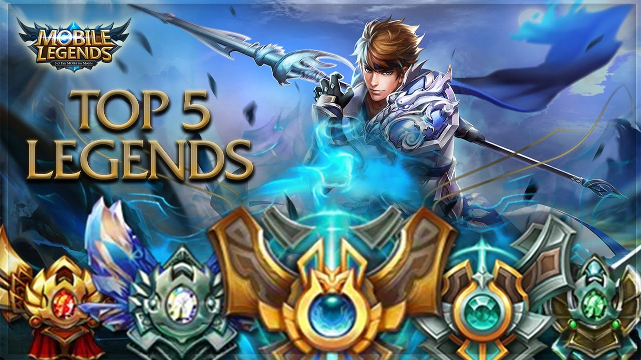 Mobile Legends: Top 5 Glorious Legends (Best Heroes) - YouTube