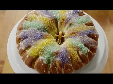 How to Make King Cake | Mardi Gras Recipes | AllRecipes