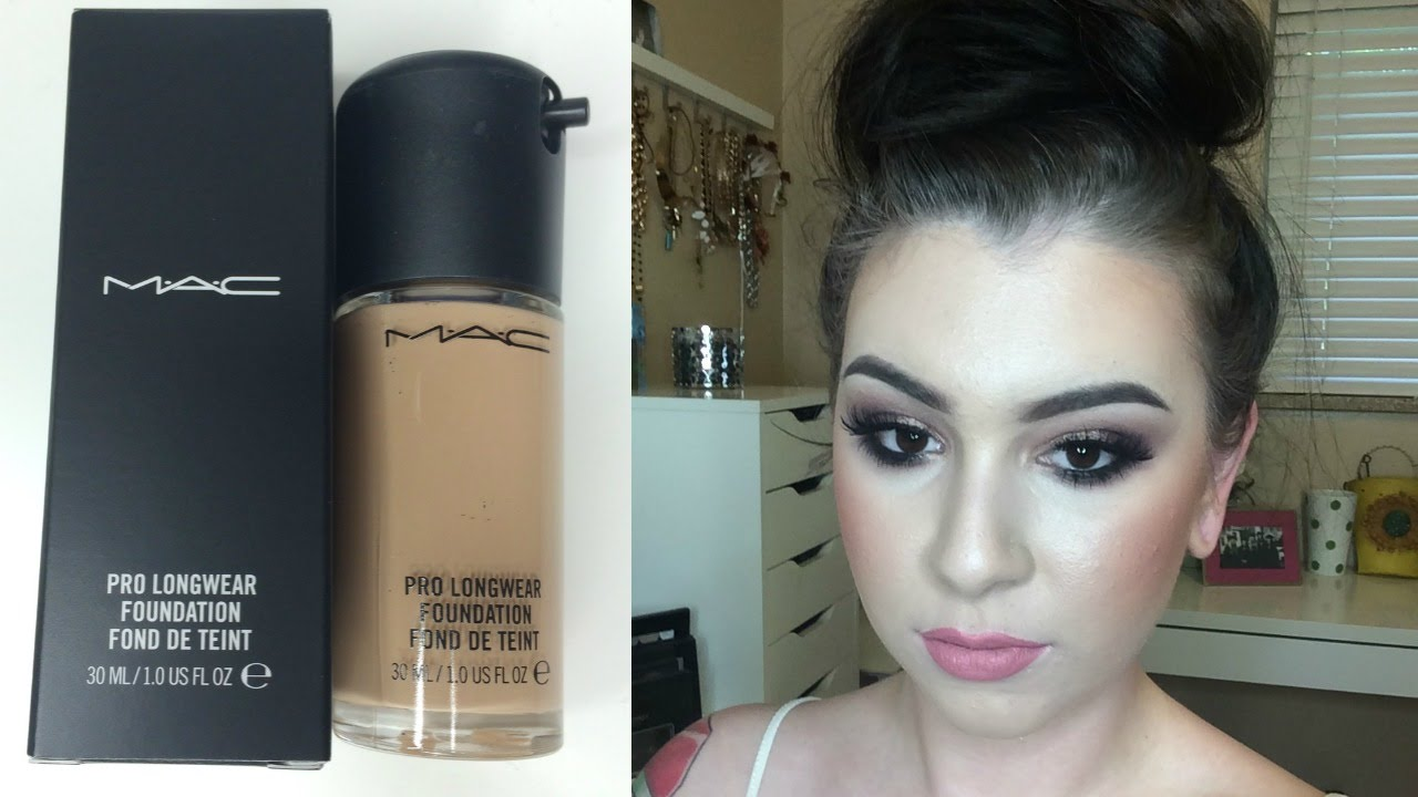 Mac foundation pro longwear