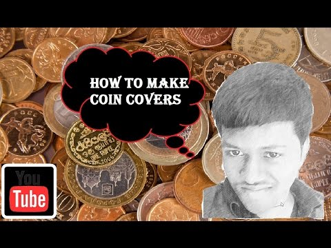 How to make covers for your coins-art of numismatics