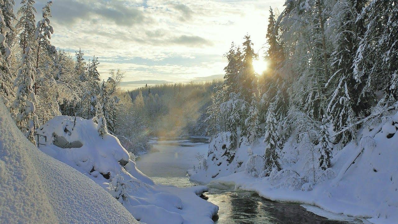Зимой на Алтай