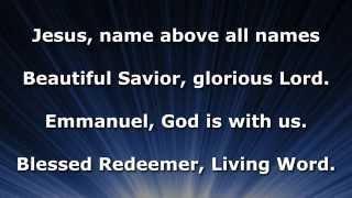 Jesus, Name Above All Names, Instrumental Lyrics No Vocals