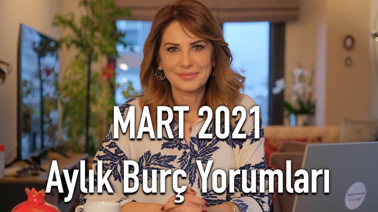 AYLARDAN MART! - Mart 2021 Aylık Burç Yorumları - Hande Kazanova ile  Astroloji - YouTube