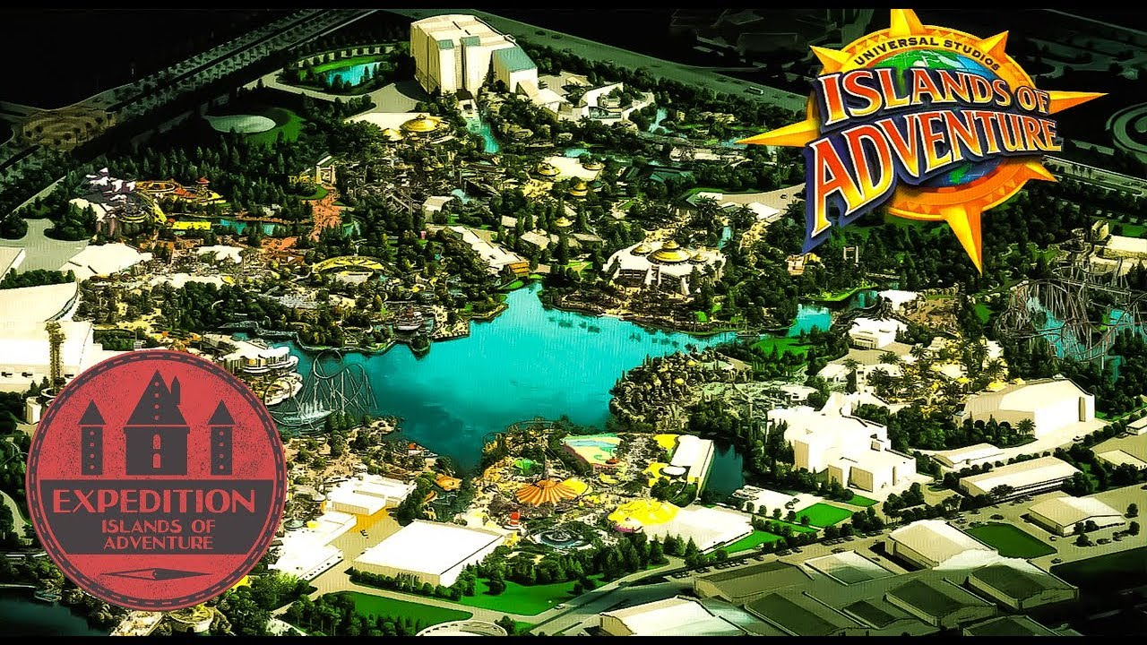 The Creation Of Universal's Islands Of Adventure