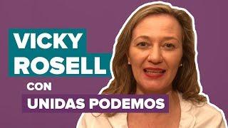 VICKY ROSELL anuncia su vuelta a UNIDAS PODEMOS