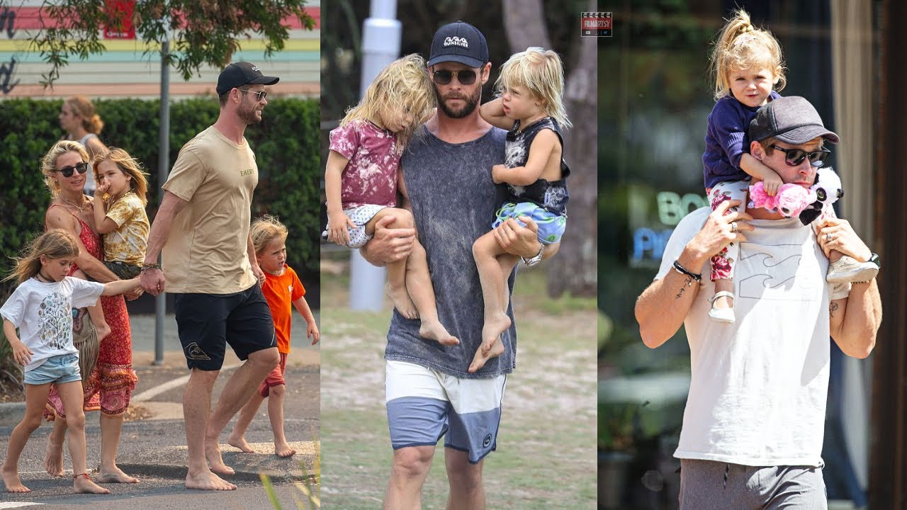 Chris Hemsworth Roasting His kids | Thor AKA Chris Hemsworth Hilarious Moments With His Kids | 2020