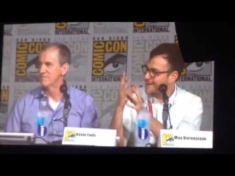 Max Borenstein, Meagan Good Talk Minority Report At Comic Con #SDCC
