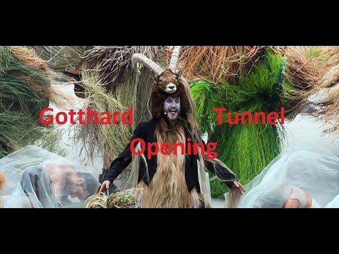Gotthard Tunnel Opening Ritual (Shocking)